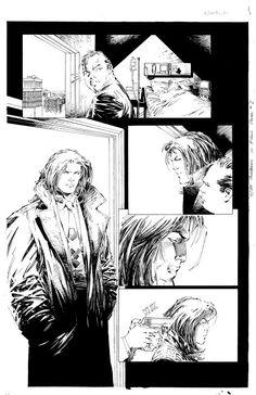 Darkness # 4 page 21 - Comic Art Work By Marc Silvestri - #comics, #comicart…