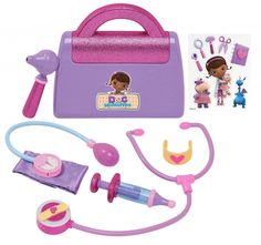I received a Doc McStuffins Dress up set and Doctor's Bag in exchange for this post. Check out these awesome Doc McStuffins toys! Perfect for the upcoming holiday season, your
