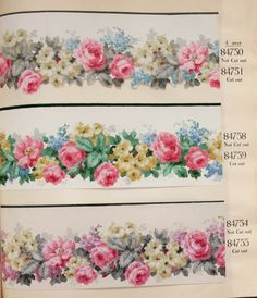 At Popinjay Creates, I am always on the lookout for unloved vintage and antique books and ephemera. I am captivated by the idea of bringing their Art Deco Wallpaper, Antique Wallpaper, Wallpaper Samples, Wallpaper Borders, Vintage Wallpapers, Stencil Fabric, Stencils, Flower Wall, Wall Flowers