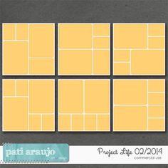 Project Life 01/2014 by Pati Araujo | CU/Commercial Use #digital #scrapbook design tools at CUDigitals.com #digitalscrapbooking