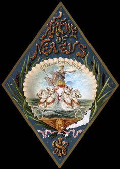Krewe of Nerus 1897 Ball invitation