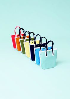 Discover now the Spring/Summer 2013 Collection My Bags, Purses And Bags, Tote Bags, Lacoste Bag, Purse Wallet, Paper Shopping Bag, Red And Blue, Two By Two, Handbags