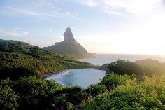 Vista da  Praia do Meio Tourism, Around The Worlds, Wedding Photography, River, Mountains, Pico, Nature, Outdoor, Rainy Season