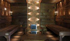 Sauna with finnish handmade Cube-sauna stove