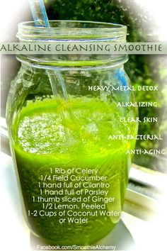 Alkaline Cleansing Detox Smoothie