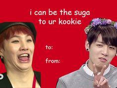 Zeppie images BTS Valentines Card | SugaKookie wallpaper photos ...