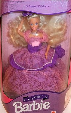 1993 Barbie - Very Violet # ?