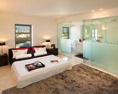 Bedroom Glass Shower Doors Design, Pictures, Remodel, Decor and Ideas