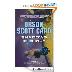 Book Review: Shadows in Flight by Orson Scott Card. A pretty short, science fiction book.  The fifth in the series, but with a much more young adult feel and a clear re-start to the Shadow series.    The problem with this having such a young adult feel is that it is not a stand alone book and the rest of the series does not feel like a young adult series.