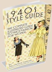 Glamour Daze--great site with fashion info for 1900 through the 1960s. Includes vintage makeup guides, fashion films, links to other vintage fashion sites, a page on fashion designers and one on costume in film. Hope they add the 1970s soon :-)