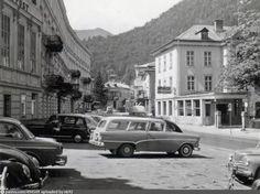 Kaiser-Franz-Josef-Straße, Bad Ischl Kaiser Franz Josef, Bad, Austria, Vintage, Antique Cars, Vintage Comics