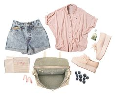 """."" by zyzabella ❤ liked on Polyvore featuring Monki, Quiksilver, Mulberry, Hahn and tarte"