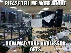 DI Tornado!!! USMC drill instructor tornado, you now have an hour to get this squared away! Do you hear me recruit?!