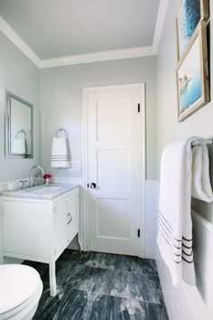 Interior design secrets to styling a bathroom: http://www.stylemepretty.com/living/2017/01/11/designer-secrets-to-a-beautifully-styled-bathroom/ Photography: Mary Costa - http://marycostaphotography.com/