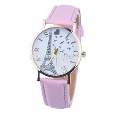 2017 hot chinese products watch eiffel tower I love paris watch dropshipping online shopping women watchs relojes hombre