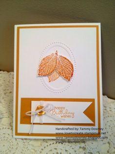 Three Leaf Fall Birthday