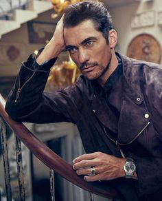 David Gandy is a dapper vision as he covers the autumn-winter issue of L'Officiel Hommes Korea. The British model dons an elegant wardrobe for a story… Famous Male Models, Top Male Models, Autumn In Korea, Androgynous Models, David James Gandy, David Gandy Body, Perfect Man, Gorgeous Men, Beautiful