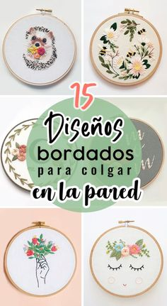 Hand Embroidery Patterns Free, Basic Embroidery Stitches, Modern Embroidery, Embroidery For Beginners, Embroidery Hoop Art, Embroidery Designs, Learning To Embroider, Fabric Flowers, Needlework