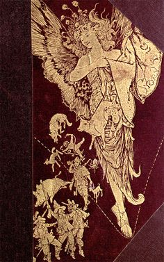 Cover illustration by H. J. Ford for 'The all sorts of stories book' by Mrs. Lang; edited by Andrew Lang. Published 1911 by Longmans, Green & Co.  See the complete book here