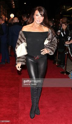 Lizzie Cundy Memphis Press Night Red Carpet | Lizzie Cundy attends the press night performance of 'Memphis The ...