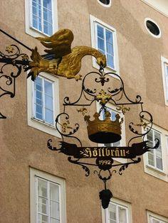 Salzburg Sign, Austria