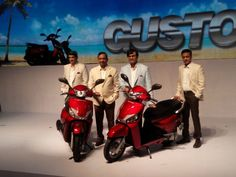 Mahindra Gusto launched at Rs 43,000  read: http://www.gismaark.com/AutomobileViews.aspx?AUTID=42 #GISMaark #mahindra #bikeSH #mahindraraise