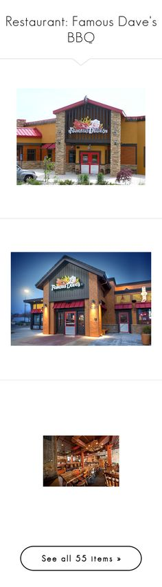 """""""Restaurant: Famous Dave's BBQ"""" by knamts ❤ liked on Polyvore featuring home, home decor, kitchen & dining, table linens, red gingham napkins, red napkins, red table napkins, pier 1 imports, cotton table napkins and wall art"""