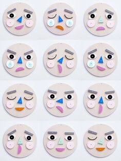 How are you feeling?Make A Face is a wooden toy with hundreds of expressions! A wonderful way to learn about & discuss emotions together. Turn & flip the wooden face pieces to express your emotion! Art For Kids, Crafts For Kids, Arts And Crafts, Paper Crafts, Kit Design, Montessori Toys, Wooden Puzzles, Wood Toys, Educational Toys