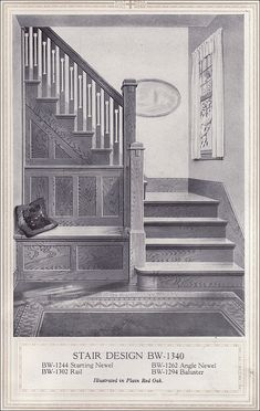 1920 Entry with Seat by American Vintage Home, via Flickr