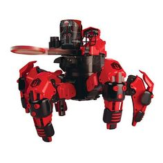 Combat Creatures Attacknid MK1 Battling Spider Toy Robot with Remote Control, Ultra Controllable Disc-Firing Weapon System, 6-Legged Robotic...