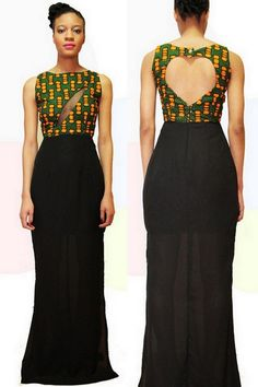Its African inspired. African Fashion Designers, African Inspired Fashion, African Print Fashion, Africa Fashion, Fashion Prints, African Prints, African Attire, African Wear, African Women