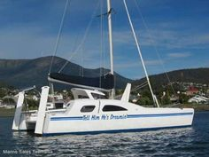 Cool boat | Great Barrier Express 9M Spordeck Catamaran GBE |  #Boating #Catamarans #CatamaransforSale #CatamaransforSaleHobart #CatamaransforSaleTasmania #PreownedCatamarans #Sailing #UsedCatamarans
