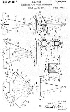 meggiecat: Paper Funnel Template
