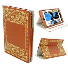 KHOMO ® Brown Book Style Leather Case with Built-in Stand for Apple iPad Mini 7.9 Inch by KHOMO. $16.99. KHMOMO introduces a new case to its collection. KHOMO iPad Mini Book Style case. You can have everything in one place when you're out and about. With the look of a tiny vintage book. This KHOMO case is a high-quality leather case that's hand-distressed to give each one a unique finish.. Save 43%!