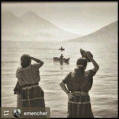 #Follow @emencher: Las Mujeres Y Los Pescadores #Lake #Atitlan #Guatemala #ILoveAtitlan #AmoAtitlan #Travel #Volcano #LakeAtitlan #LagoAtitlan http://OkAtitlan.com