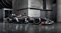 Sauber new 2014 car C33 #2014