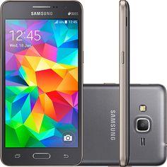 (Shoptime) Smartphone Samsung Gran Prime Duos G531H Dual Chip Desbloqueado Oi Android 5.1 Tela 5 ´ 8GB 3G 8MP - Cinza - de R$ 1409 por R$…