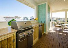 "5/4 big patio w outdoor TV, plenty of room for us. Seacrest Beach ""La Playa"" 105 Blue Dolphin Loop Vacation Rental in Santa Rosa Beach FL, FL"