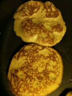 Lauren's Blog: Almond Flour and Oat (Pumpkin) Pancakes or Apple Pancakes