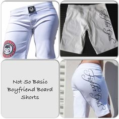 Check out our product of the week! Not so basic board shorts. Come in black and white. Shop fightergirls.com. The 1st & original in women's MMA. Best quality & dedicated to the female warrior.  Http://www.fightergirls.com/shop.  #fightergirls #wmma #womensmma  #boardshorts #fightwear #sportswear #training #crosstrain #BodyCombat #grappling #kickboxing #jiujitsu #gym #circuttraining