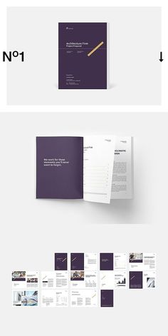 --- Architecture Firm Proposal Template is clean, modern and professional with strong typography make your proposal look professional. Brochure Layout, Brochure Design, Brochure Template, Print Layout, Layout Design, Web Design, Business Proposal Template, Proposal Templates, Editorial Layout