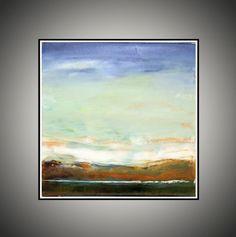Cuadrado de pintura Original abstractos por AIDACONTEMPORARYART