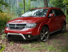 Explore the 2019 Dodge Journey crossover. Build and price your crossover SUV today. 2014 Dodge Journey, Family Suv, Dodge Nitro, Fiat, Cars And Motorcycles, Vehicles, Red, Autos, Car