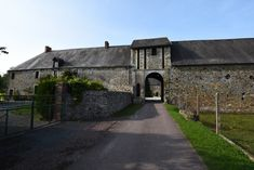 Fortified French Château with outbuildings, stables and paddocks for sale in Normandy Pedestal Basin, Electric Radiators, Butler Sink, Dining Room Windows, D Day Landings, Loft Stairs, Arched Doors, Gate House, French Property