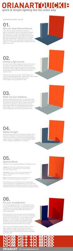 Quick Lighting, Fox's Way by `fox-orian on deviantART