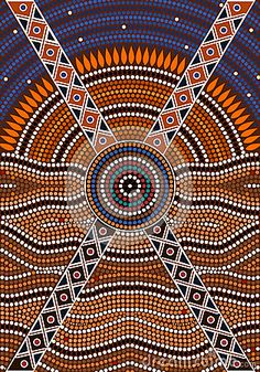 dot painting, aboriginal - Google Search