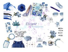 """Elegant Accessories"" by horse-dance-princess on Polyvore featuring Paper Dolls, STELLA McCARTNEY, Oliver Peoples, Sonix, Glam Bands, Shay & Blue, By Terry, Glitter Injections, NARS Cosmetics and Chanel"