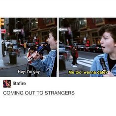 If anyone wants to watch this it's called coming out to strangers by Amanda's chronicles- Isabelle