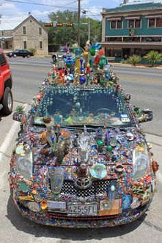 Texas Art car! Too much? maybe