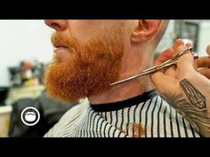 How to Trim Fade and Maintain a Square Beard Video Beard Styles Images, Beard Styles For Men, How To Fade, Beard Butter, Beard Shapes, Beard Ideas, Beard Fade, The Way He Looks, Ginger Beard